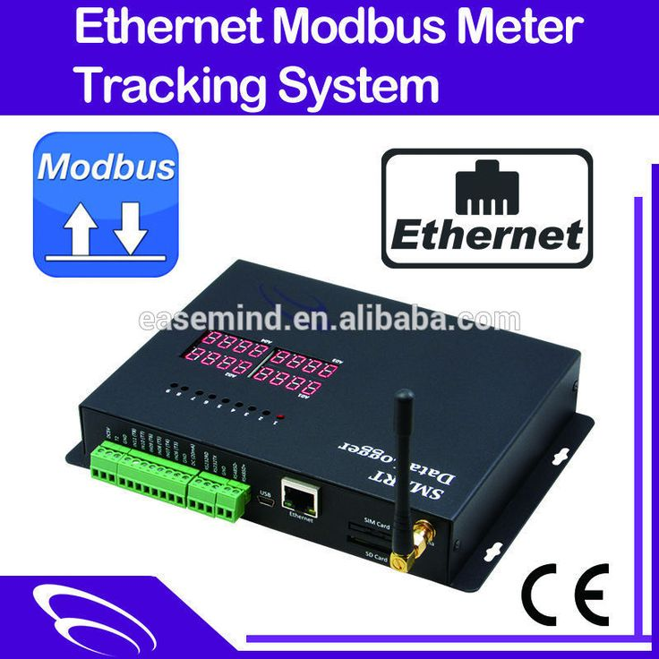 Ethernet Modbus Meter Tracking System rf receiver gsm sms controller
