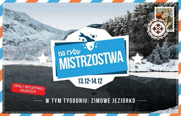Mistrzostwa Zimowe Jeziorko w Na Ryby https://grynank.wordpress.com/2014/12/13/mistrzostwa-zimowe-jeziorko-w-na-ryby/ #gry #nk #naryby