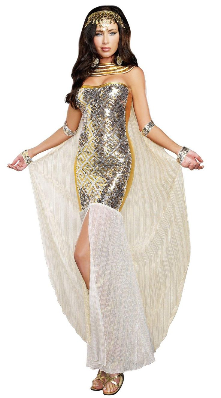 Home gt gt cleopatra costumes gt gt jewel of the nile egyptian adult - Egyptian Nefertiti Outfit From Costumeexpress Com