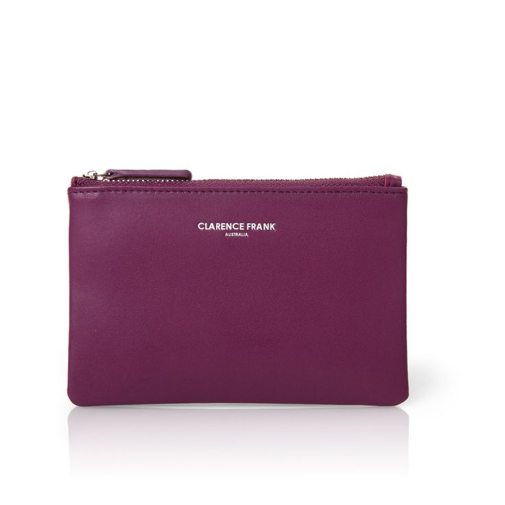 Image of Savvy Rose Coin Purse - Purple <s> WAS $49.00 </s>