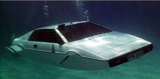 bbc topgear lotus submarine pictures | Lotus Esprit (The Spy Who Loved Me)