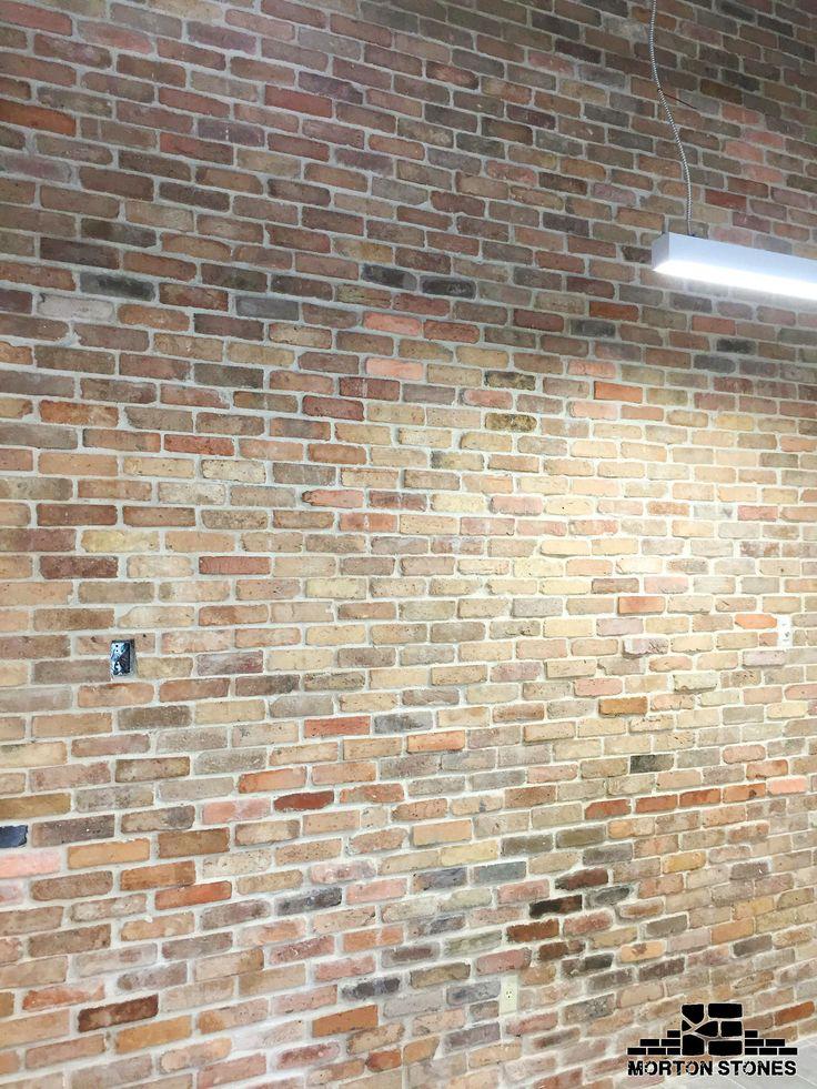 309 best brick veneers images on pinterest for Rustic brick veneer
