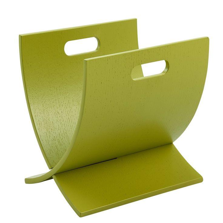 Lettore Magazine rack - Lime Green - Versanora