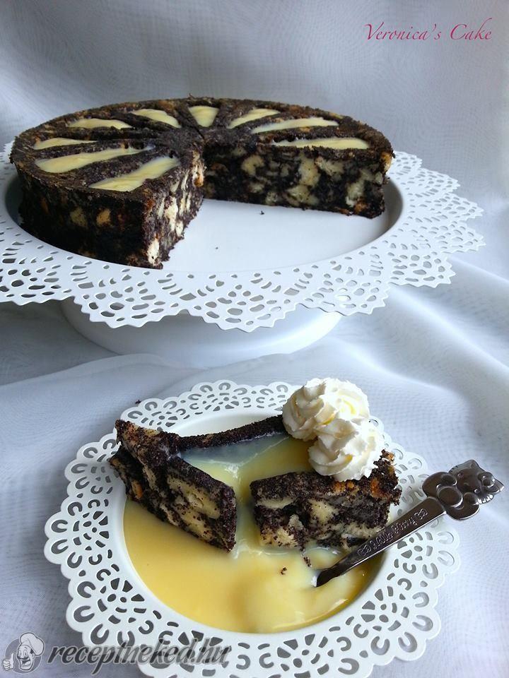 A legjobb Mákos guba torta recept                                               Küldte: Magyarné Fekete Veronika