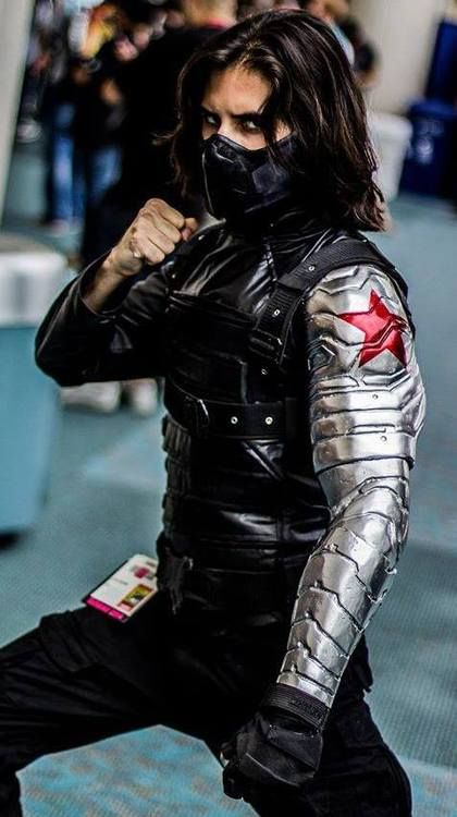 This is the most spot on Winter Soldier cosplay I've clapped eyes on