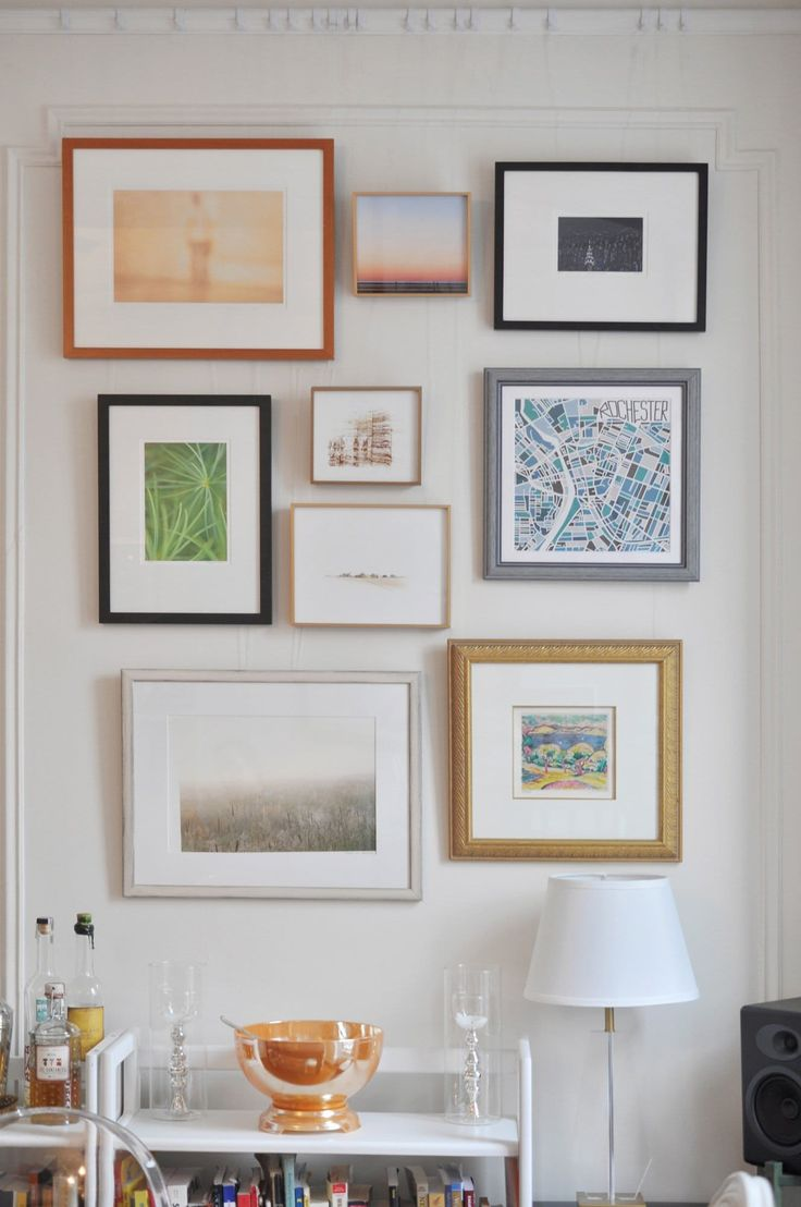 Frugal Living: How To Frame Your Art on the Cheap — Apartment Therapy Tutorials by Apartment Therapy Main  #Art, #BudgetLiving, #Crafting, #HomeDecor, #HowTo, #Projects, #ReuseRecycle, #TipsTechniques, #Tutorials