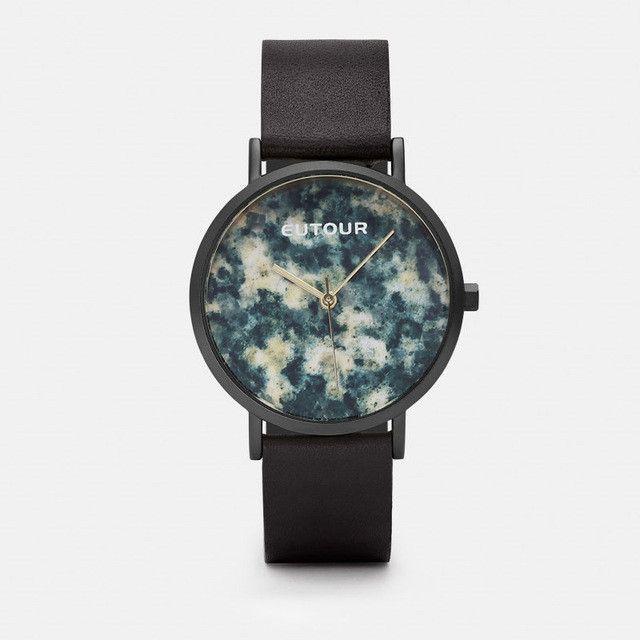 EOTOUR Luxury Women's watch Dress Vintage leather bracelet Marble Watches Casual Fashion Waterproof Ladies Quartz Wristwatches