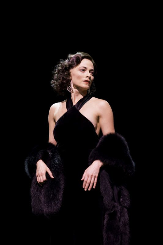 "Lara Pulver (Louise) in GYPSY at the Savoy Theatre, London 2015. ♡ ★★★★★ ""A near-perfect musical"" (Arts Desk): www.LOVEtheatre.com/news/100643/Five-star-reviews-for-Imelda-Staunton-in-Gypsy?sid=PIN"