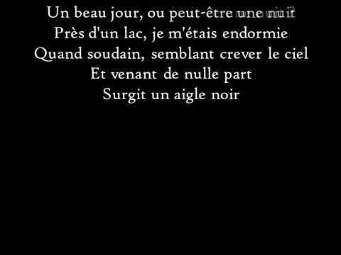 Barbara - L'Aigle noir - Paroles - YouTube