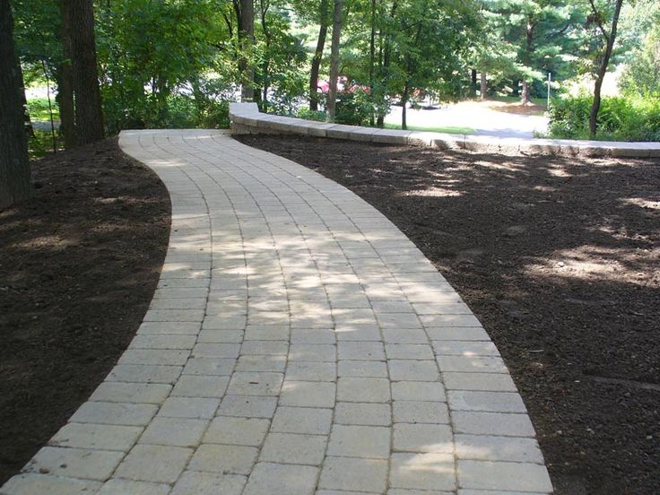 9 best images about custom walkway on pinterest for Landscaping rocks you can walk on