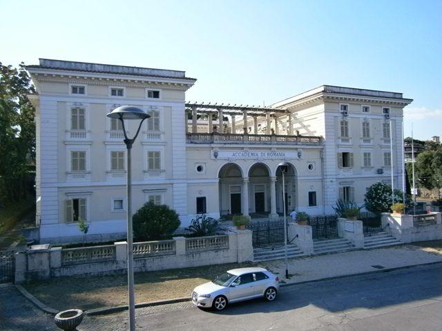 Istoria Artei: Academia României în Roma