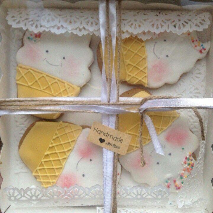 Мороженое имбирное.