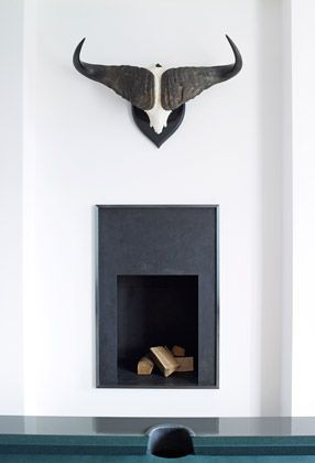 Very simple fire place