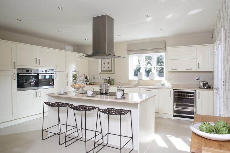 Lots of storage room and a breakfast bar! What would you want in your dream kitchen? http://bit.ly/1CoxBUd