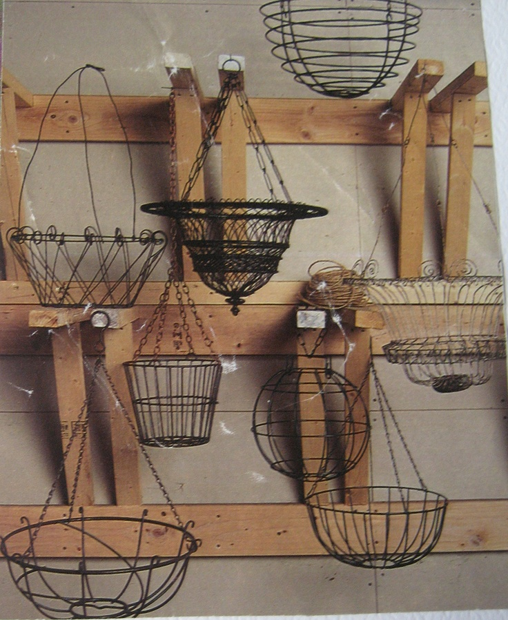 Wire Baskets Country style