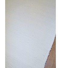 Pamut rongyszőnyeg nyers 105 x 150 cm
