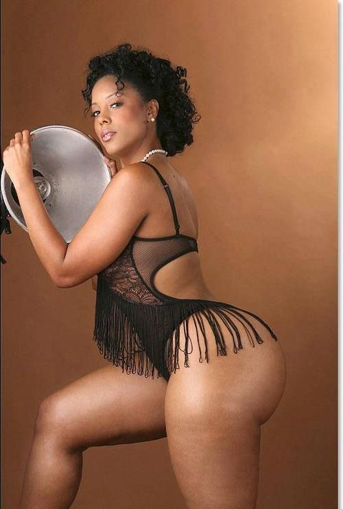 Naked thick black woman
