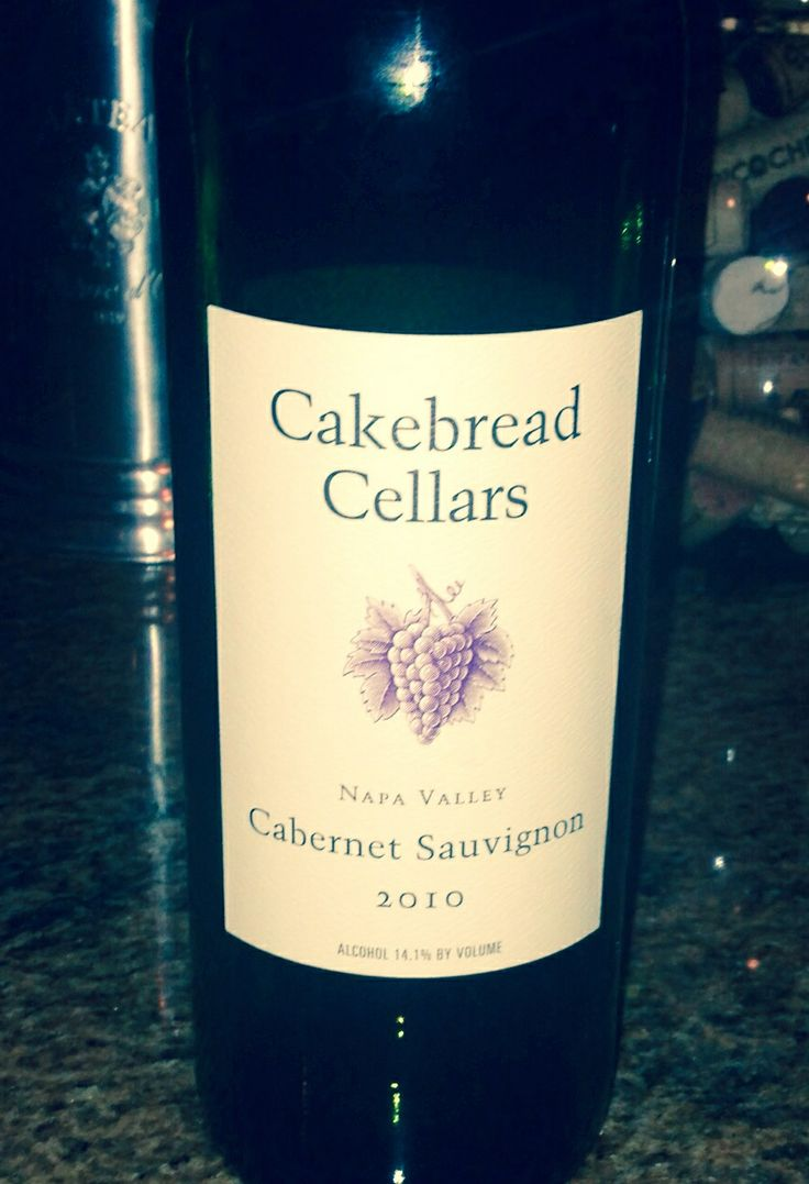 Cakebread Cabernet Sauvignon 2010 One of my absolute favs!!!!