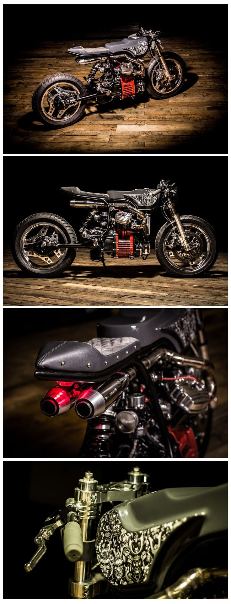 A stunning Honda CX500 Cafe Racer by Ed Turner Motorcycles