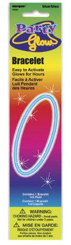 """Glow Bracelet Blue 8"""""""