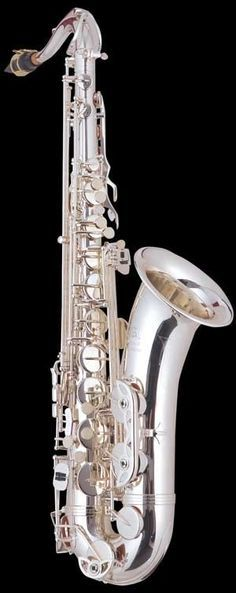 Kenny G silver plated tenor saxophone..