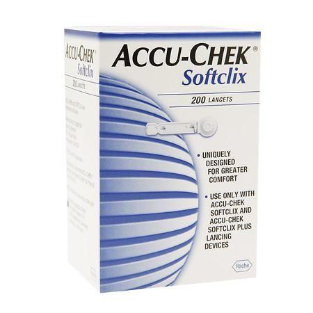 Accu-Chek Softclix Lancets - 200 ea