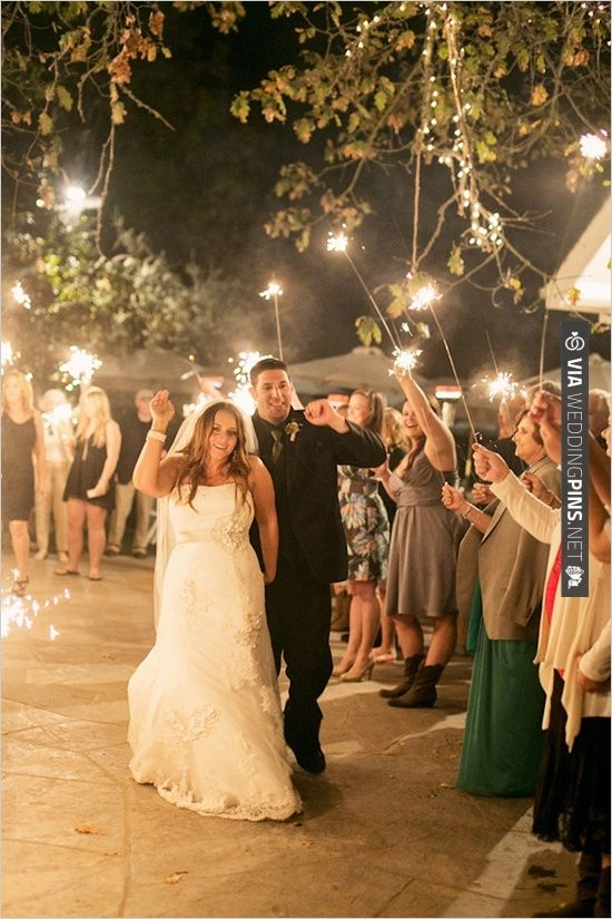 sparkler exit   CHECK OUT MORE IDEAS AT WEDDINGPINS.NET   #weddings #weddinginspiration #inspirational
