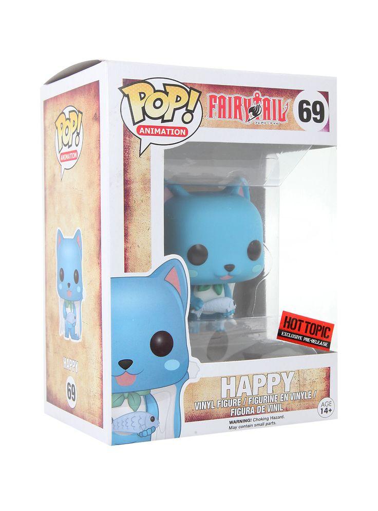 Funko Fairy Tail Pop! Happy Vinyl Figure Hot Topic Exclusive Pre-Release,
