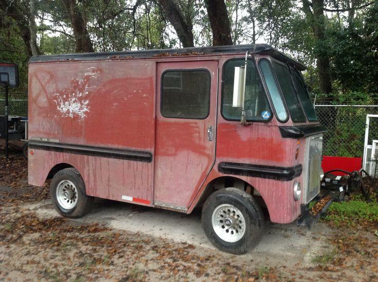 1000 images about vintage grumman other step vans on pinterest other trucks and rear view. Black Bedroom Furniture Sets. Home Design Ideas