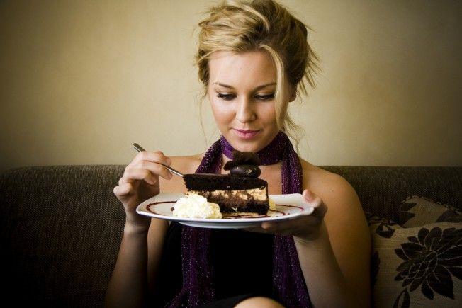 Wenig Kalorien zum Abnehmen