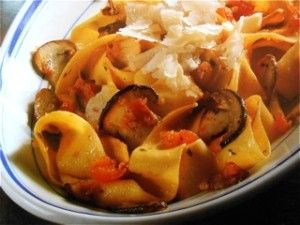 http://notjustoliveoil.com/2013/05/pappardelle-pasta-with-porcini-mushrooms/