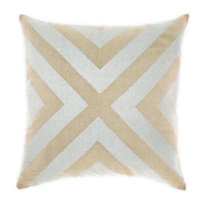 Grande Gatsby Cushion in Silver 50cm