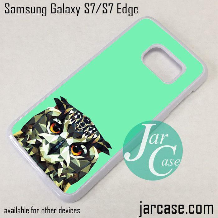 Chevron Owl Phone Case for Samsung Galaxy S7 & S7 Edge