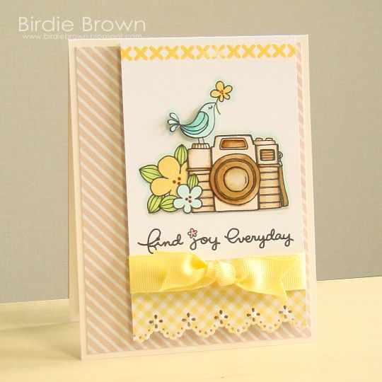 Find Joy Everyday by Torico - Cards and Paper Crafts at Splitcoaststampers