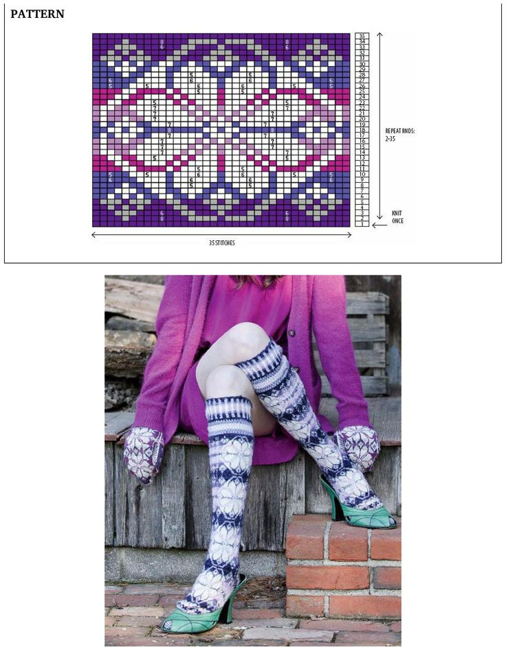 922 best Knitting Fair Isle patterns - inspiration only images on ...