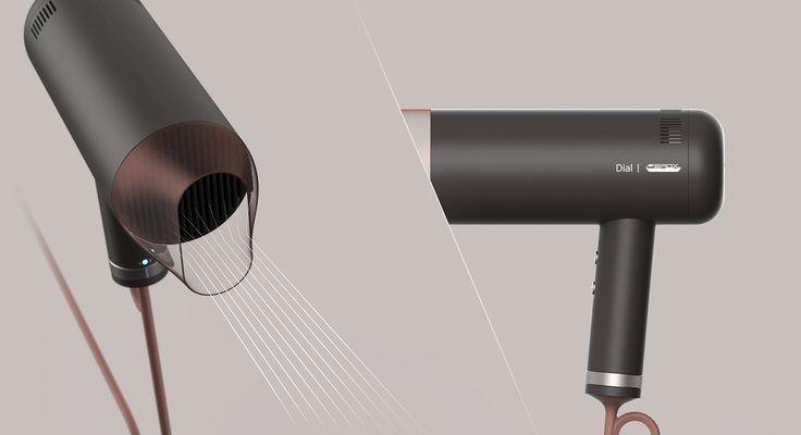 Dial_hair dryer on Behance