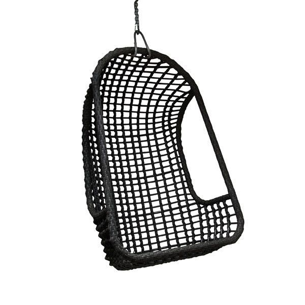 Hk Living Hanging Armchair Black Black Rat0045 Furniture Store 9design Showroom Warsaw Hanging Armchair Hanging Chair