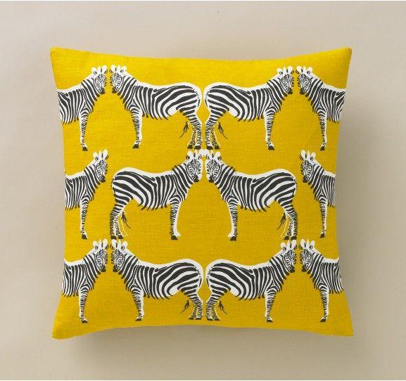 zebra dwell studio pillow