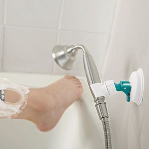 Shower Hose Holder - Position your handheld shower head exactly where you  need it