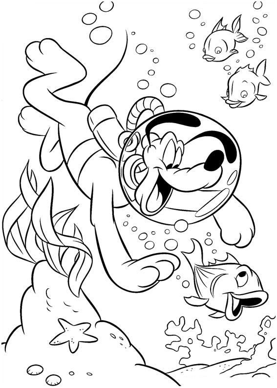 lake underwater coloring pages - photo#40