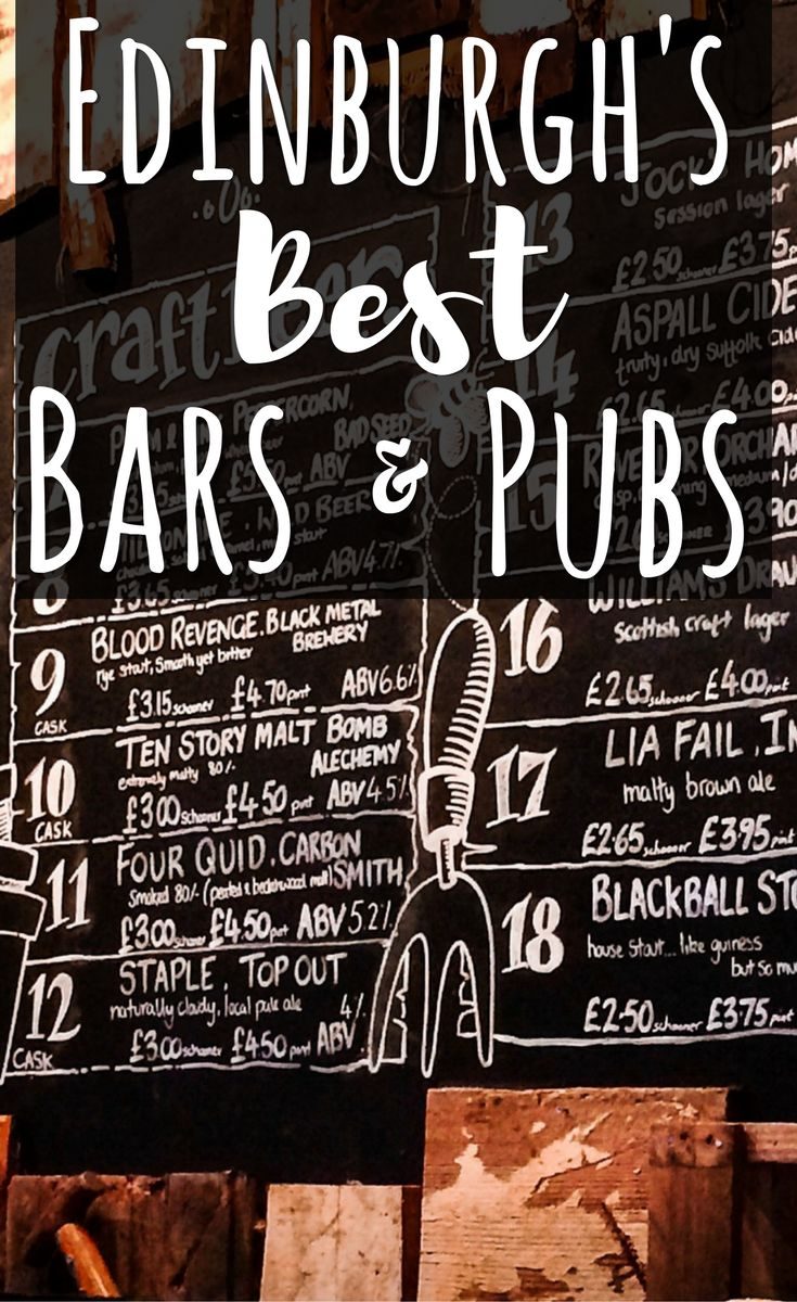 Wondering where to go out in Edinburgh? Penguin & Pia shares with you the best bars and pubs in the Scottish capital. #edinburgh #scotland #europe #traveltips #bars #pubs