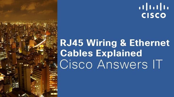 RJ45 Wiring & Ethernet Cables Explained
