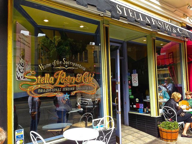 Stella Pastry and Cafe in North Beach San Francisco