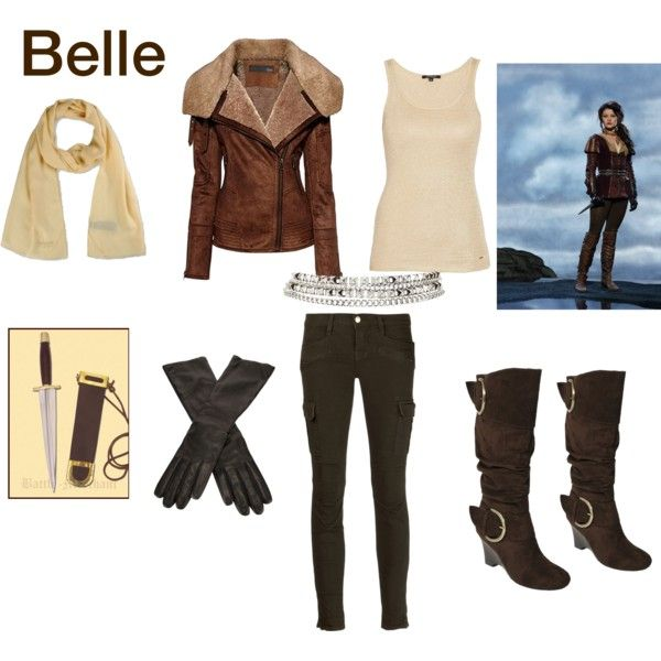 Belle(Once Upon a time) Warrior outfit