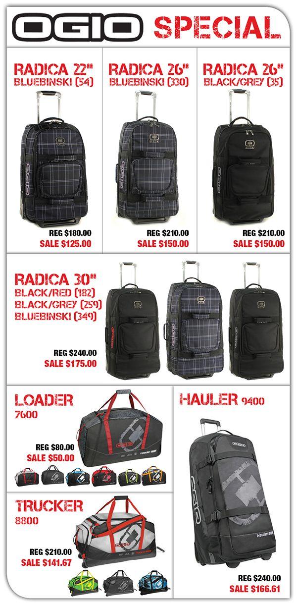OGIO Luggage Special