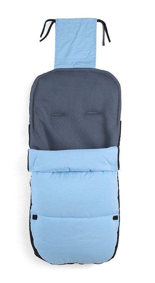 Saco de dormir compatible con Bugaboo Bee Cameleon DonKey Buffalo color azul claro