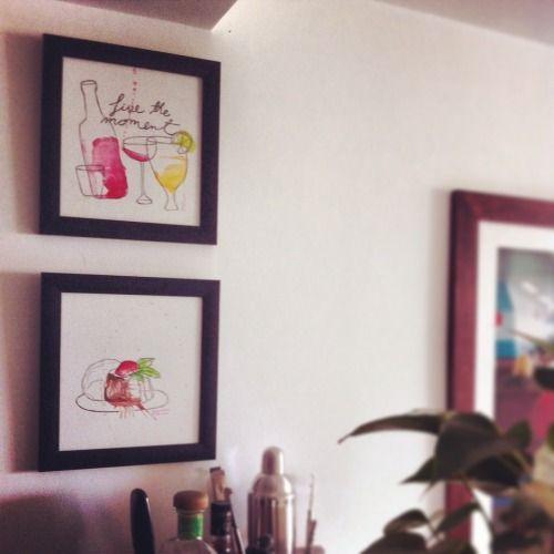 Ilustraciones de Nina Maria Studio. Perfectas para decorar espacios con personalidad en tu hogar. Si quieres conocer mas de Nina Maria entra nuestra pagina www.miomioboutique.com #ilustración #hogar #personalizados #hogar