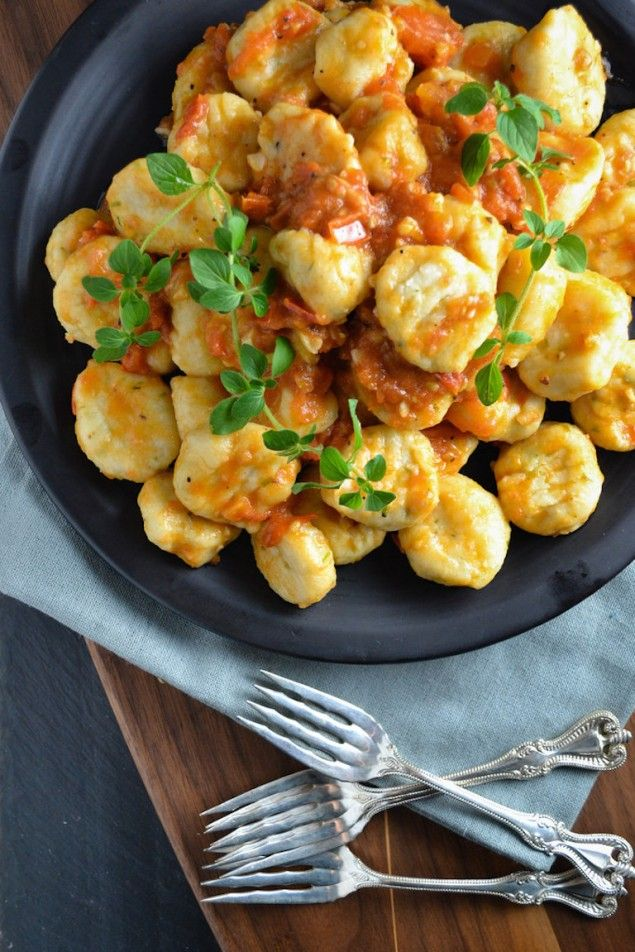 Ricotta and Parmesan Gnocchi with Anchovy Sauce – Honest Cooking