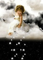 Image result for angel dropping stars images