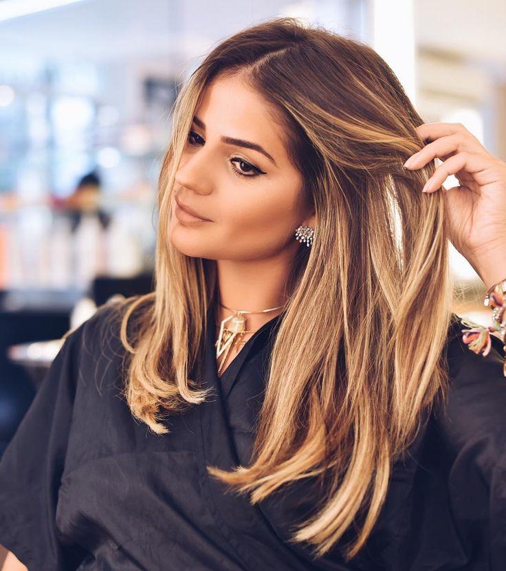 """Dia de retocar as luzes e depois iluminar com o #SoftColor da @wellabr! ❤️ Ansiosaaaaa... #hairstyle #thassiastyle | •Snap: thassia_naves"""